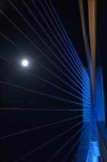 """Πανσέληνος στη Γέφυρα Ρίου - Αντιρρίου """"Χαρίλαος Τρικούπης""""_2"""