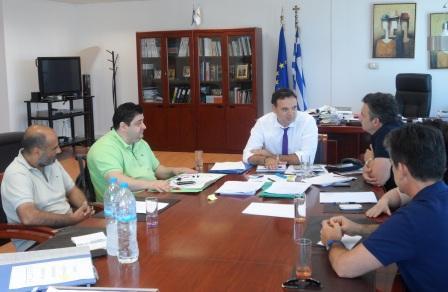Συνάντηση μελών Δ.Σ. Περιφερειακής Ομοσπονδίας Ατόμων με Αναπηρία Δυτικής Ελλάδας και Νοτίων Ιονίων Νήσων με τον Γενικό Γραμματέα Αποκεντρωμένης Διοίκησης Πελοποννήσου, Δυτικής Ελλάδας & Ιονίου