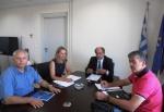 Συνάντηση Κατσιφάρα με νέο Προεδρείο Περιφερειακού Συμβουλίου