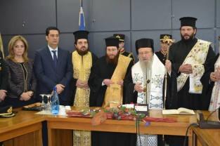 Κοπή πίτας Δήμου Αγρινίου (1)