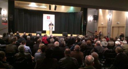 Προεκλογική εκδήλωση του Κινήματος Δημοκρατών Σοσιαλιστών στο Παπαστράτειο Μέγαρο της Γ.Ε.Α. στο Αγρίνιο (1)