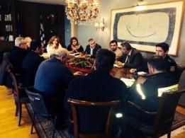Ευρεία σύσκεψη στην Π.Ε. Αιτωλοακαρνανίας για την αντιμετώπιση των καιρικών φαινομένων