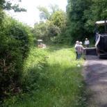 Συντηρείται η επαρχιακή οδός στο τμήμα Μεσάριστα - Μακρυνού (1)