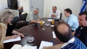Συνάντηση  Κατσιφάρα με τον Διοικητή της 6ης Υγειονομικής Περιφέρειας Πελοποννήσου - Ιονίων Νήσων - Ηπείρου και Δυτικής Ελλάδας